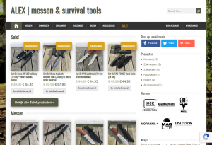 Alex | messen & survival tools